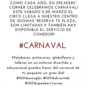 CARNAVAL'19 @ Speakers' Corner