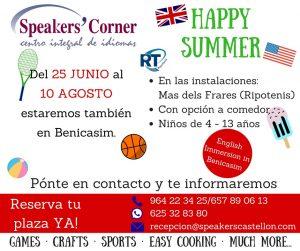 Happy Summer @ Polideportivo Mas dels Frares, Ripotenis.